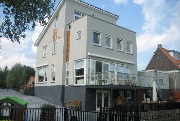 Verbouw en uitbreiding dijkwoning te Rotterdam