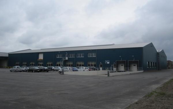 Bedrijfshallen t.b.v. fruitverwerking en -verpakking