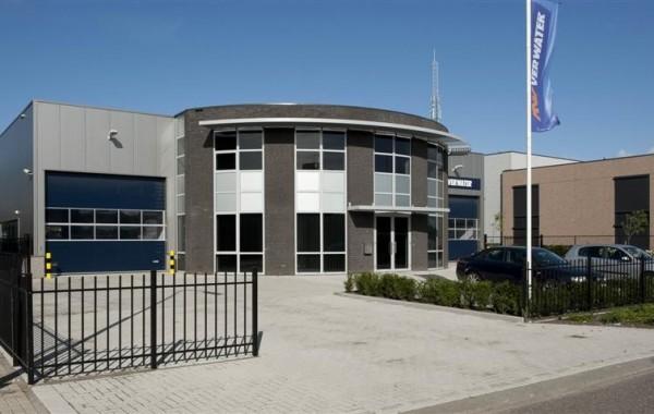 Nieuwbouw bedrijfshal met kantoor te Oud Gastel